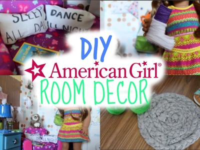 DIY American Girl Room Decor!