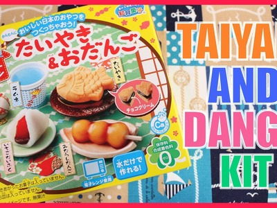 DIY CANDY! Taiyaki & Dango Kit