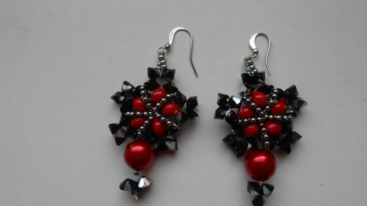 How To Create Beaded Earrings - DIY Crafts Tutorial - Guidecentral