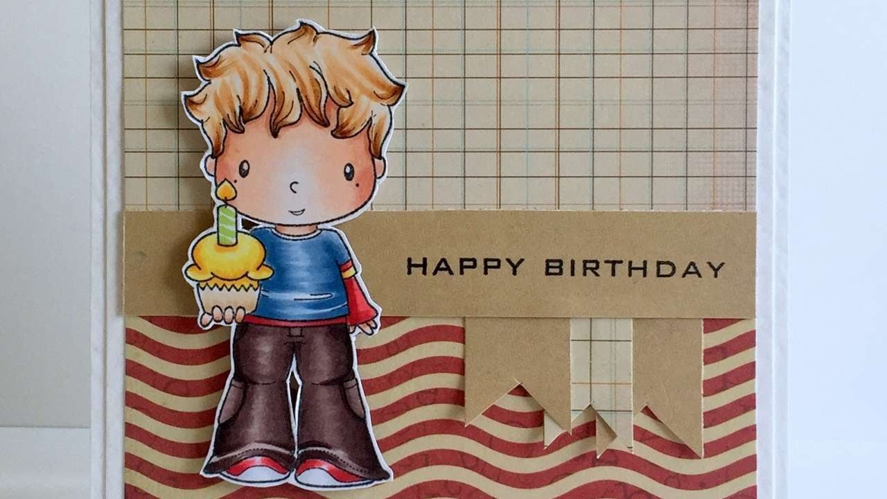 How To Make A Cute Birthday Card With Scraps Of Paper - DIY Crafts Tutorial - Guidecentral