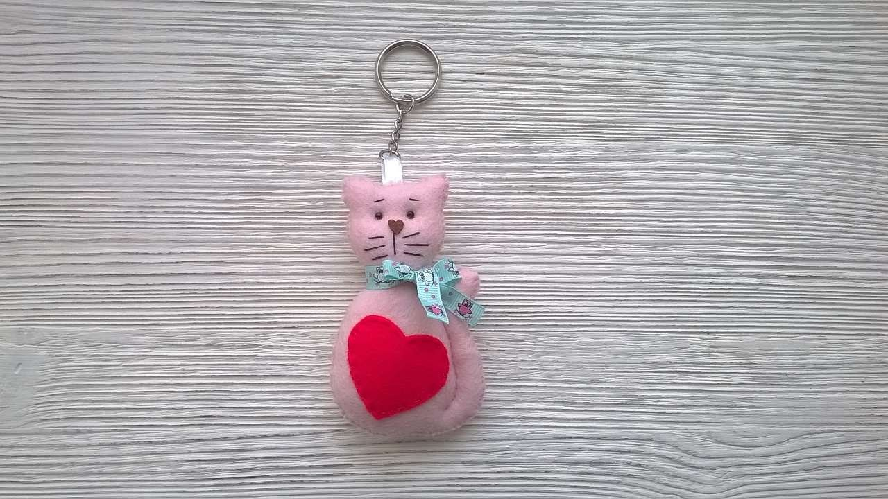 How To Make A Keychain Cat - DIY Crafts Tutorial - Guidecentral