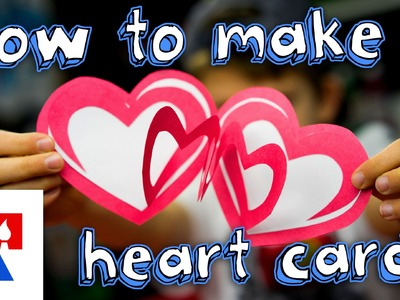 How To Make An Easy Valentine's Heart Card