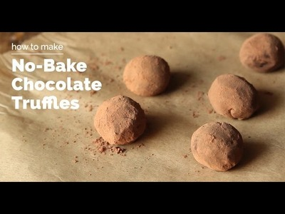 How to Make Chocolate Truffles | Yummy Ph