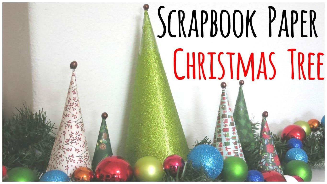 Scrapbook Paper Christmas Tree