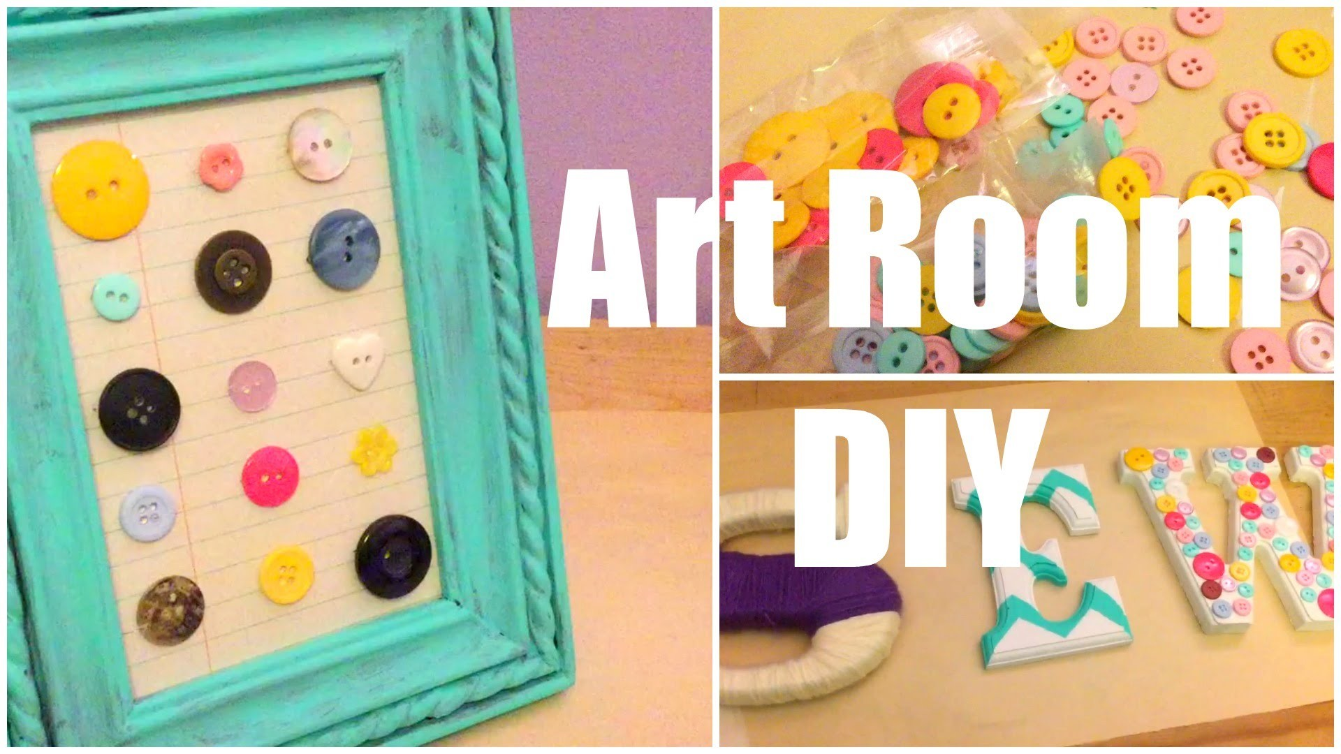 Art Room Decor DIY