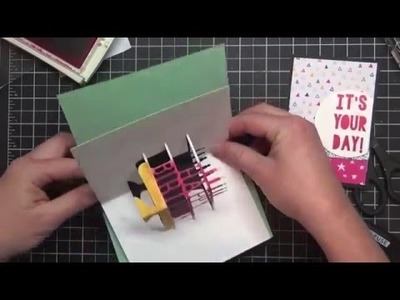 Birthday Cards that POP: How to Use the Party Pop-Up Thinlits Dies