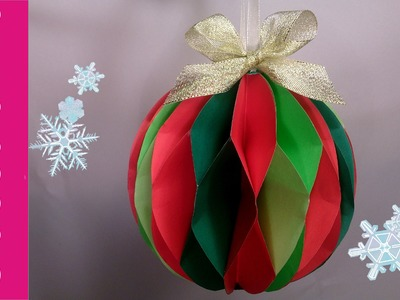 Bombka z papieru (Christmas paper ball)