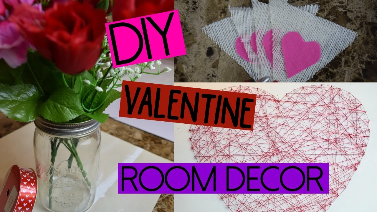 DIY Valentine Room Decor!!
