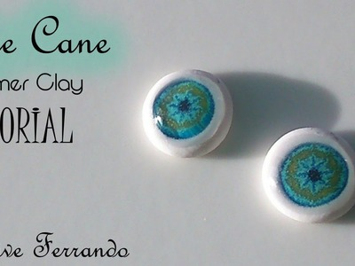 Easy Polymer Clay Eyeball Cane For Figurines and Dolls Tutorial