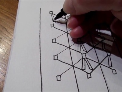 How to draw tanglepattern Boze
