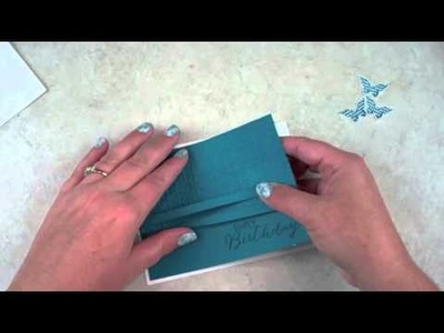 How to make a Butterfly Birthday Card by Stampin' Up!
