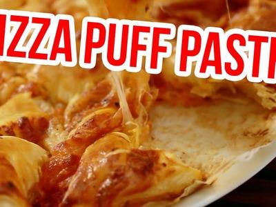 Pizza puff pastry twists | Pizza Star Bread