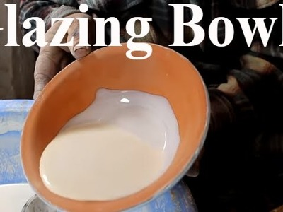 Pottery glazing - How to Glaze a Pottery Bowl  with Sifoutv Pottery #50