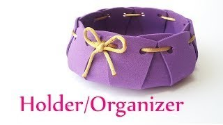 DIY crafts: HOLDER. ORGANIZER Innova Crafts