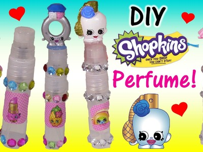 DIY SHOPKINS Perfume! Kiss Naturals Kit! Sally Scent Curly! Mix Flowery Fruit Scents! FUN