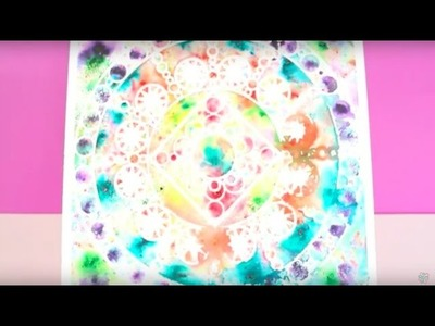 DIY Wall Art with Ken Oliver Color Burst