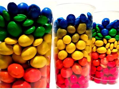 Hidden Surprise Toys in Rainbow Cocktail M&M Cups - Ingrid Surprise
