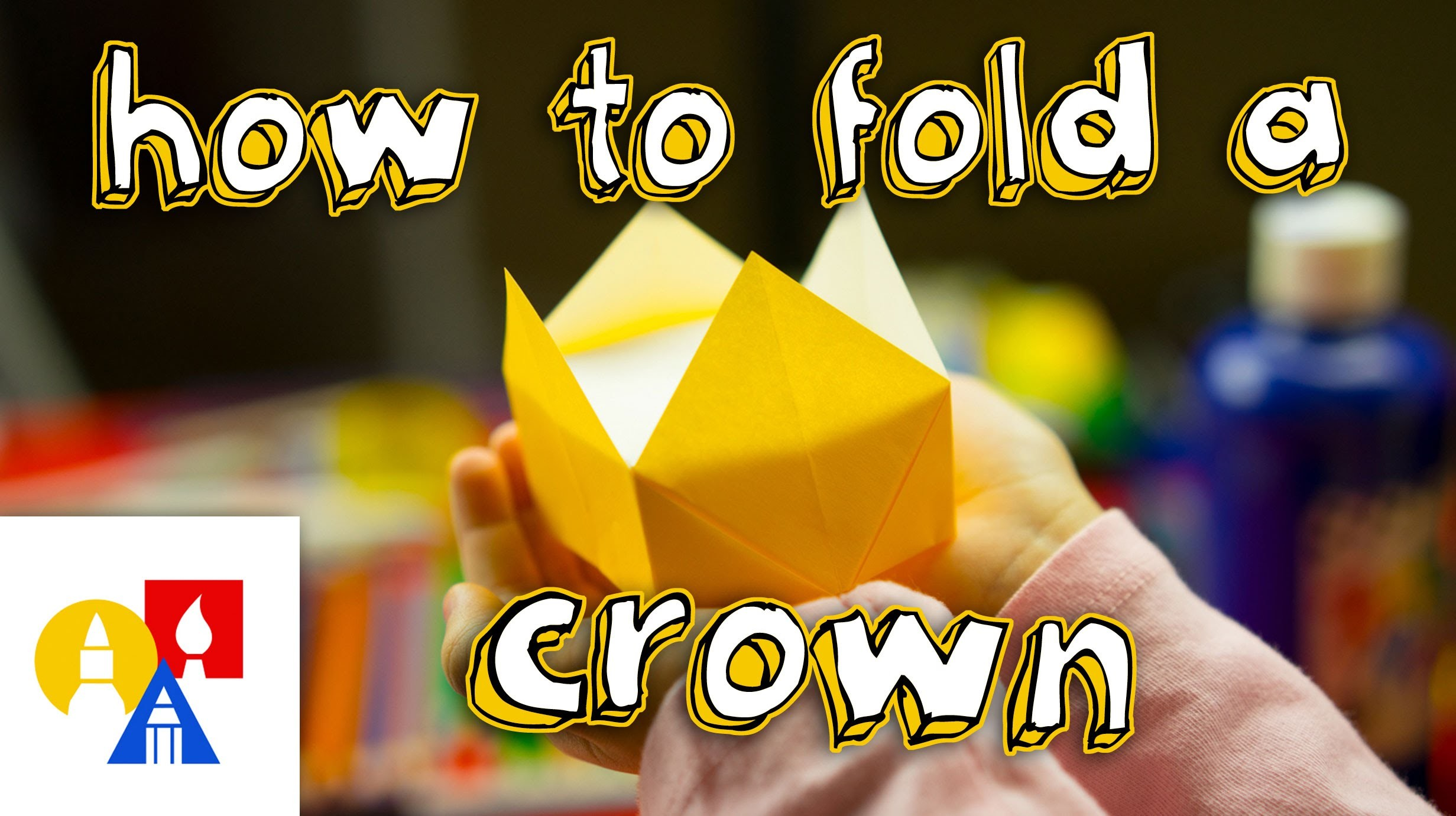 How To Fold An Origami Crown