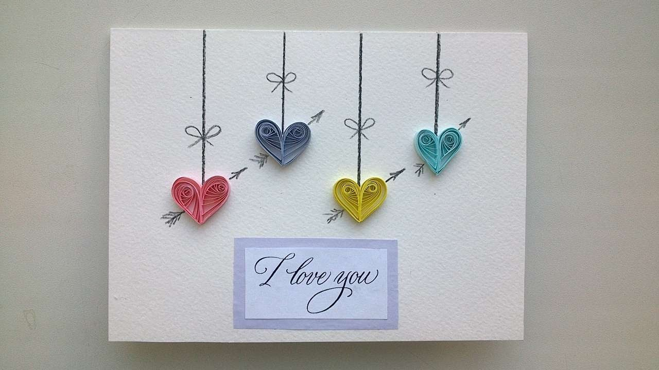 How To Make A Beautiful Card For Valentine's Day - DIY Crafts Tutorial - Guidecentral