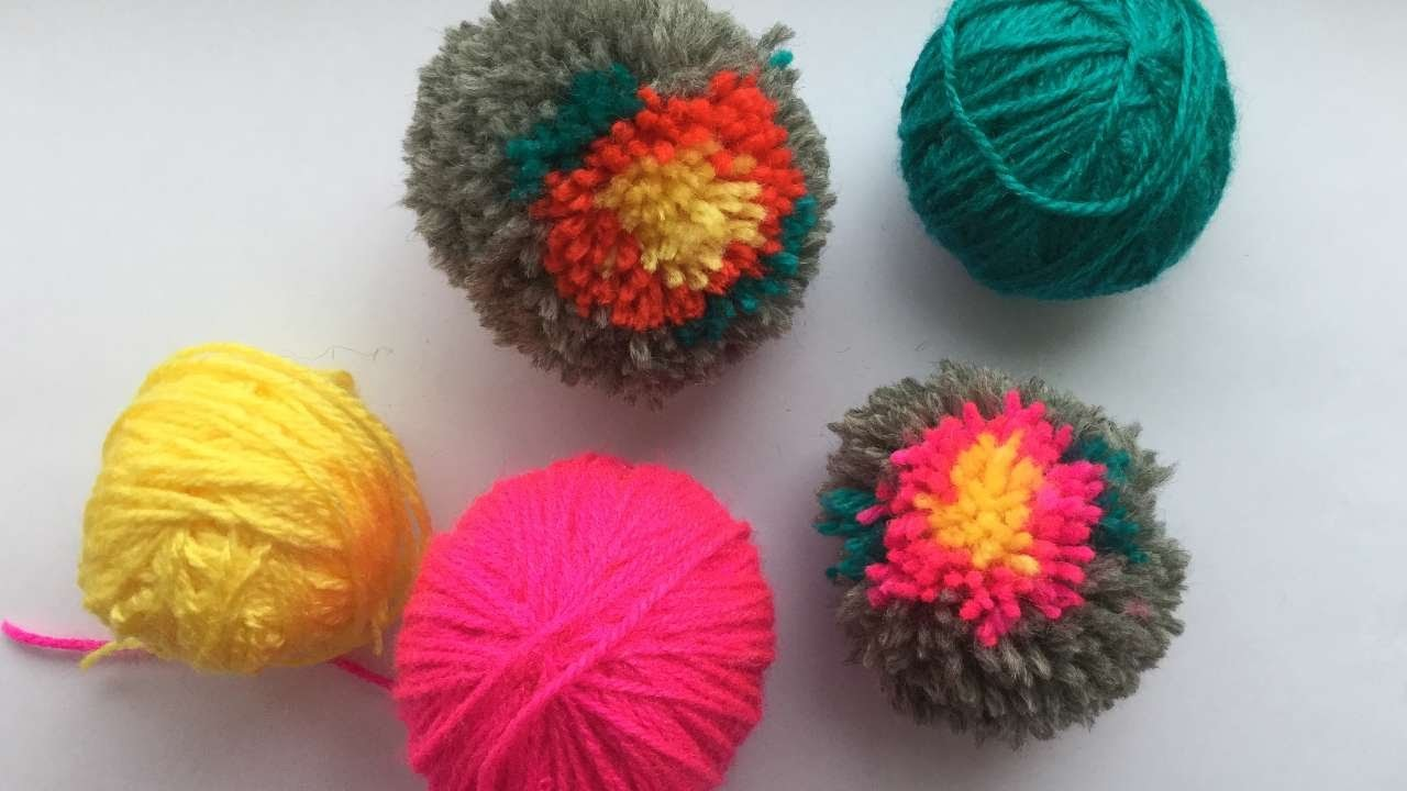 How To Make A Flower Pom Pom - DIY Crafts Tutorial - Guidecentral