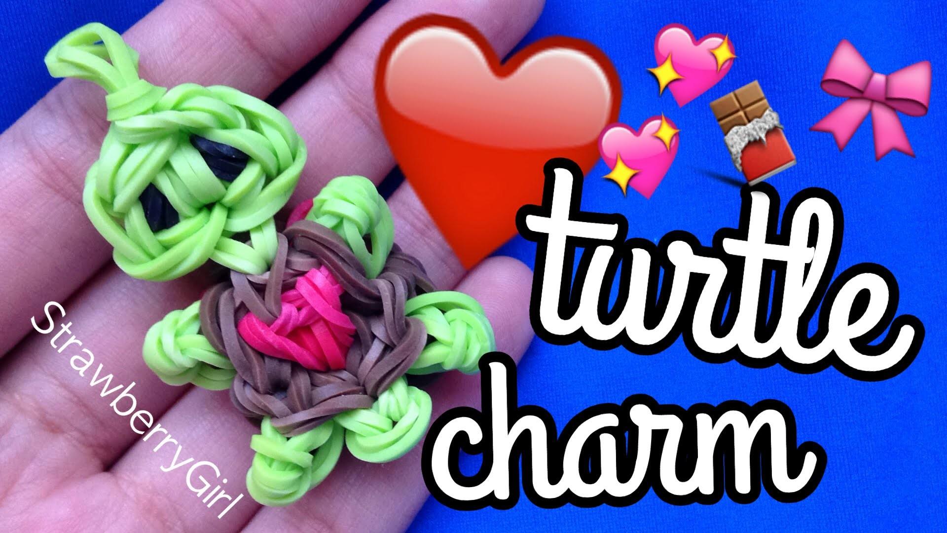 How to Make a Heart Turtle Charm - Rainbow Loom