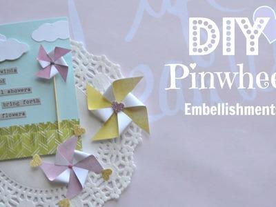 How to Make Pinwheel Embellishments - Build Your Stash #4