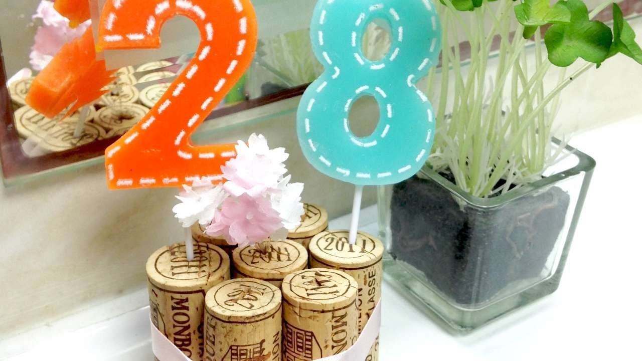 How To Preserve Cake Toppers Using Wine Corks - DIY Crafts Tutorial - Guidecentral