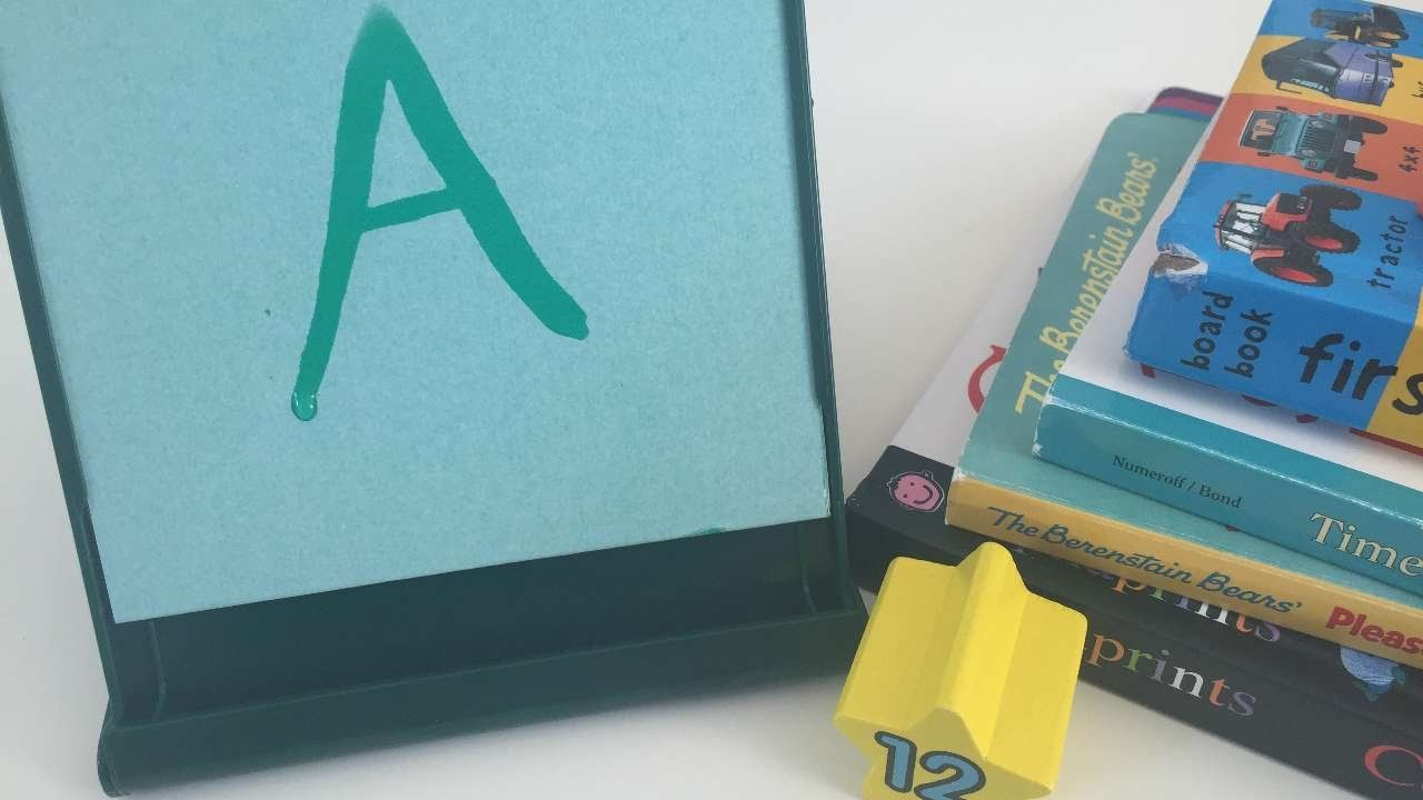 How To Use The Mini Buddha Board To Teach Letters - DIY Crafts Tutorial - Guidecentral