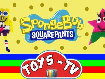 Play Doh Spongebob Squarepants Patrick Fun & Easy How To DIY Play Doh