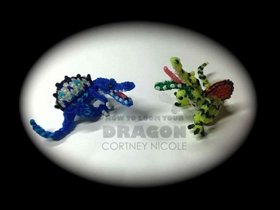 Rainbow Loom Dinosaurs (Spinosaurus)