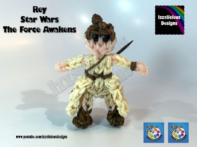 Rainbow Loom Rey Star Wars - The Force Awakens (Tunic)