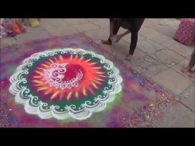 Best Rangoli Learn how to draw Diwali Rangoli Easy beautiful rangoli