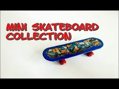 Crafts how to make cardboard mini skateboard collection