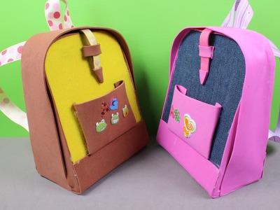 DIY AG American Girl Doll Backpack
