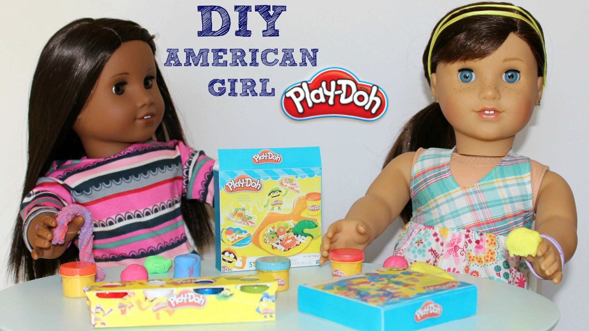DIY American Girl Play Doh Craft