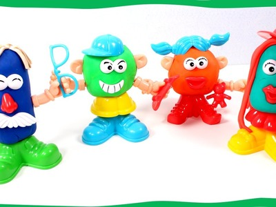 HOW DO FUNNY FACE   Playing with Play Doh