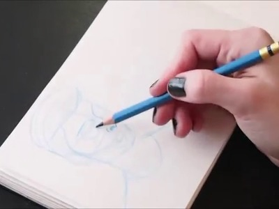 How I Draw | Portraits: Eyes, Nose, Hair, Faces!