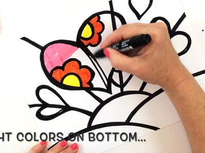 How to Draw a Britto-Inspired Heart
