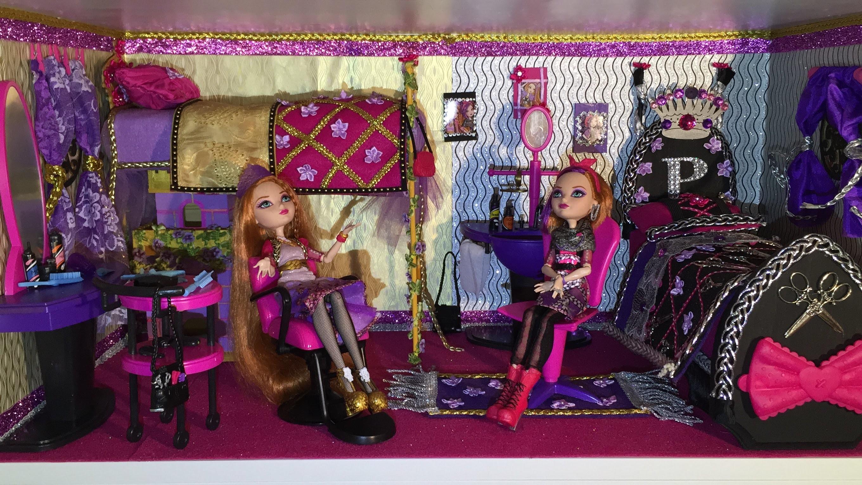 Комната для кукол своими руками эвер афтер хай 91