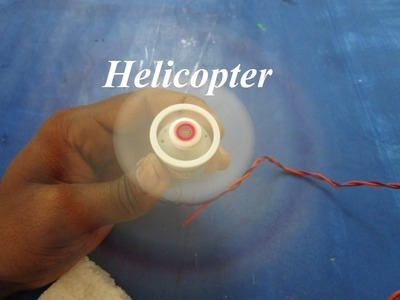 How to make a helicopter - how to make a helicopter with motor at home
