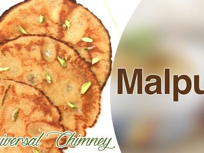 How To Make Malpua (Pancakes) By Smita || Universal Chimney