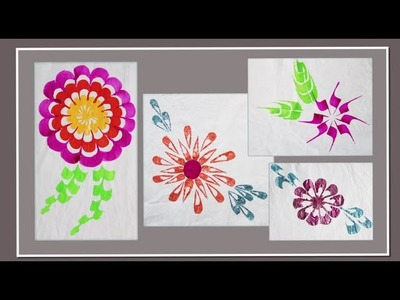 HOW TO -  Paint Flowers Using Simple Brush Strokes