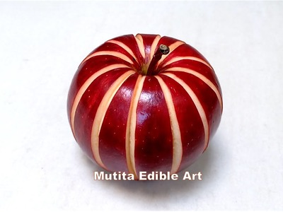 Practice How to Control the Knife | Carving Techniques 28 | by Mutita Edible Art Of Fruit Carving Vi