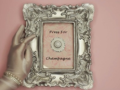 """Press For Champagne"" DIY ROOM DECOR!"