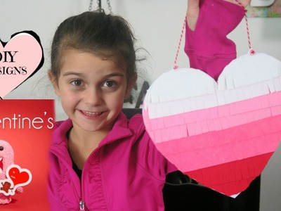 VALENTINE'S DIY FELT HEART-Emma&Ellie