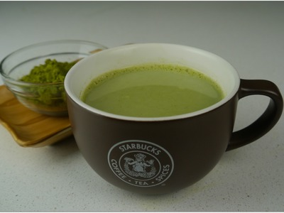 DIY Starbucks Green Tea Latte