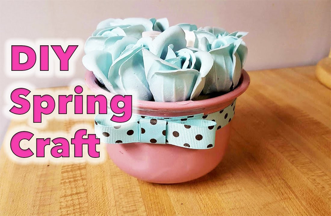 Dollar Tree Goodwill DIY Craft for Spring