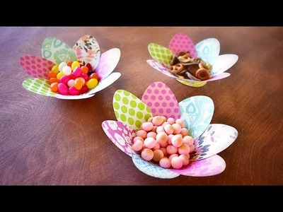 Easter Paper Egg Party Bowl