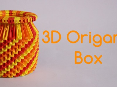How To: 3D Origami Box - Model 3