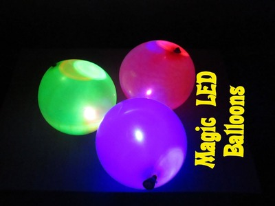 How to Make a Magic LED Ballons (Decorations) - Easy Tutorials